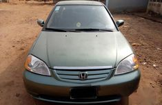 Neat Honda Civic 2002 Green for sale