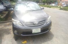 Nigerian Used Toyota Corolla 2010 Gray For Sale