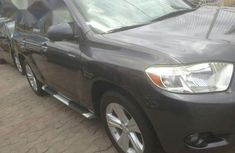 Toyota Highlander 2009 Gray for sale