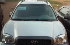 Hyundai Santa Fe 2003 Silver for sale