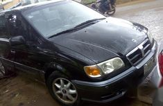 Hyundai Trajet 2003 Black for sale