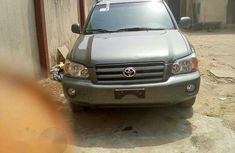 Clean Toyota Highlander V6 2005 Green for sale