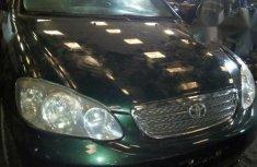 Toyota Corolla 2006 Green for sale