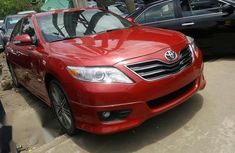 Clean Toyota Camry Sport 2008 Red for sale