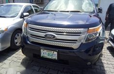 Ford Explorer SUV 2012 Blue for sale