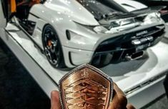 The world's most expensive car key ever - Koenigsegg Regera's key