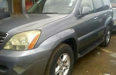 Clean Naija Used Lexus GX 470 2005 Gray For Sale