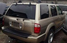Tokunbo Infiniti QX4 2002 Gold for sale