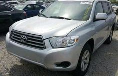 Toyota Highlander 2008 SILVER for sale