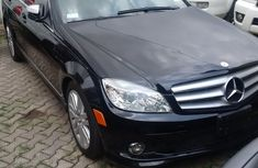 Mercedes Benz C300 2008 Black for sale