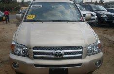 Toks Toyota Highlander 2005 for sale