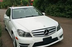 Mercedes Benz C300 2018 White for sale