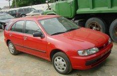Nissan Almeria 2005 red for sale