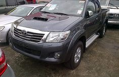 Very neat clean Toyota Hilux 2012 Grey for sale