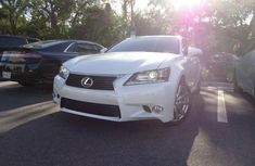 2015 Lexus GS 350 White for sale