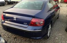 Foreign used Peugeot 407 2004 blue for sale