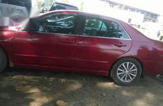 Clean Registered Honda Accord 2005 Red for sale