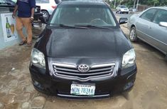 Toyota Avensis 2007 Black for sale