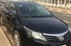 Clean Used Toyota Avensis 2013 Black For Sale