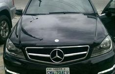 Neat Mercedes-Benz C300 2013 Black for sale