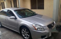 Clean Nissan Maxima 2008 Silver for sale