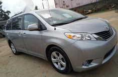 Clean Toyota Sienna LE 2012 Silver for sale