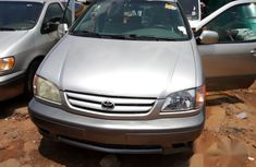 Clean Toyota Sienna 2002 Silver for sale