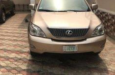 Clean Lexus RX 350 2007 Gold for sale