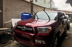 Toyota 4runner 2012 Red For Sale