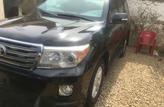 Toyota Land Cruiser 2012 Black for sale