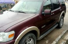 Used Ford Explorer 2009 Red for sale