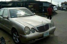 Mercedes-Benz E320 2001 Gold for sale