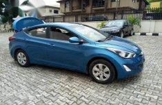 Clean Hyundai Elantra 2014 Blue for sale