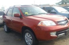 Acura MDX 2003 Petrol Automatic Orange for sale