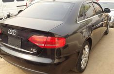 Clean Audi A4 2008 Black for sale