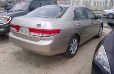HONDA ACCORD 2011 GOLD FOR SALE