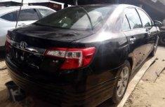 Direct tokunbo Toyota Camry 2014 model black for sale