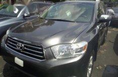 Toyota Highlander 2009 Gray for sale