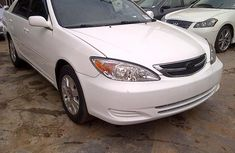 CLEAN 2003 TOYOTA CAMRY WHITE FOR SALE