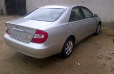 Sparking direct Toyota Camry 2003 silver for sale