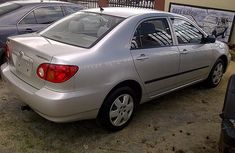 Sharp neat Toyota Corolla 2003 silver for sale full options