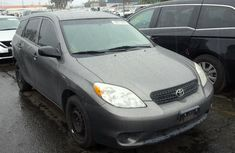2005 Toyota MATRIX grey for sale