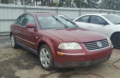 2004 VOLKSWAGEN PASSAT GLS RED FOR SALE