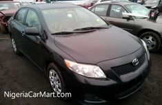 Clean Corolla 2012 Black for safe at affordable price