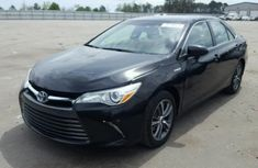Toyota Camry 2015 model Black for sale
