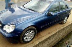 Mercedes-Benz C180 2004 Blue for sale