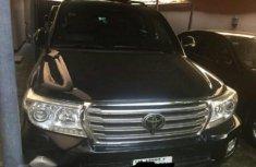 Toyota Land Cruiser 2012 Black Bulletproof for sale