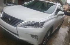 Lexus RX 2015 Petrol Automatic White for sale