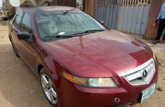 Acura Tl 2005 Red for sale