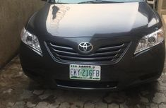 Clean Toyota Camry 2007 Black for sale